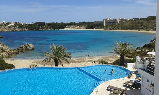 select open water swimming in Menorca