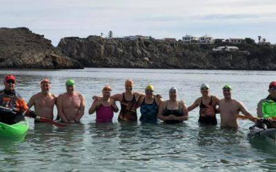 Ten swimmers went in…